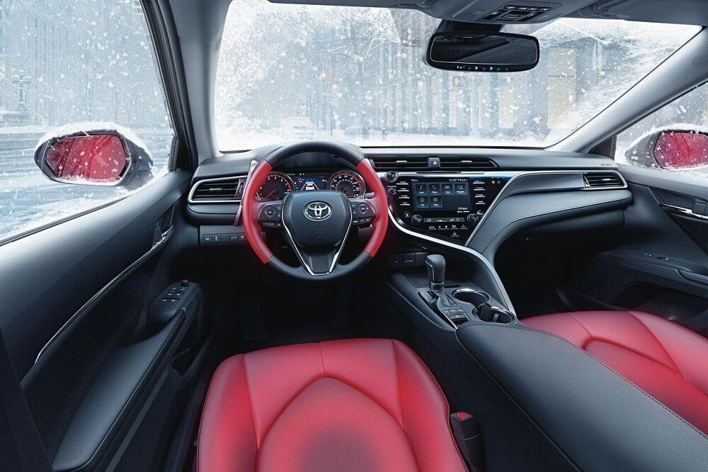 Toyota Camry Interior Salisbury Nc Cloninger Toyota